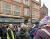 WALKING TOUR of SHEFFIELD CITY CENTRE_DSC_8516_LR_2.5 (Roger Perriss) Tags: sheffield castle citycentre d750 group walkers talk guidedtour guidedtalksheffield sheffieldcastle markettavern