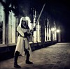 Assassins Creed (akame.ga.cosplay) Tags: cosplay bw gaming blackwhite black perspective sword castle medieval