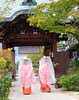 Two pilgrims (jo92photos) Tags: pilgrim japan nara traditionalcostume kimono temple touchoforange