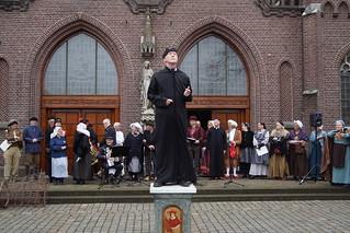 Groep 5 van de Basisscholen Sint-Oedenrode 150 terug in de tijd met Koster Brock
