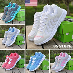 Women Athletic Walking Sneakers Breathable Tennis Trainner Road Running Shoes (laplace777) Tags: athletic breathable sneakers tennis trainner walking women