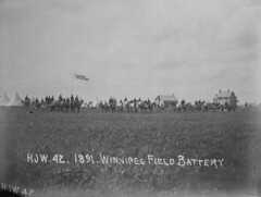 Winnipeg Field Battery, 1891 [LAC] (vintage.winnipeg) Tags: winnipeg manitoba canada vintage history historic armedforces
