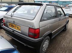 K984 PRG (4) (Nivek.Old.Gold) Tags: 1992 seat ibiza clxi katalysator 3door 1193cc systemporsche pauljohnsoncars consett aca