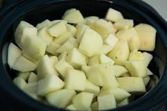Food Photography - Apple Sauce (Katherine Ridgley) Tags: food cooking cook kitchen apple apples fruit sauce applesauce slowcooker crockpot