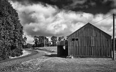 Making Tracks (Keith Midson) Tags: shed burnie tasmania romaine railway tracks railwaytracks traintracks clouds rural australia