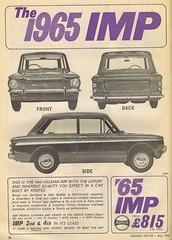 Hillman Imp 1965 (Runabout63) Tags: hillman imp
