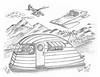 Biss Bee 17 (rod1691) Tags: myart art sketchbook bw scifi grey concept custom car retro space hotrod drawing pencil h2 hb original story fantasy funny tale automotive illistration greyscale moonpies sketch sexy