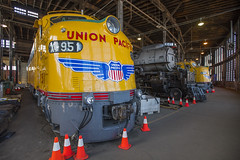 UP's Historical Fleet (joemcmillan118) Tags: wyoming cheyenne unionpacific historicallocomotives