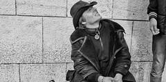 Sit......good boy!! (Baz 120) Tags: candid candidstreet candidportrait city candidface candidphotography contrast street streetphoto streetphotography streetportrait sony a7 fullframe rome roma romepeople romestreets europe monotone monochrome mono noiretblanc blackandwhite bw urban vivitar28mmf2 life primelens portrait people italy italia girl grittystreetphotography decisivemoment faces strangers