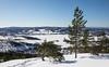 Quand le temps hivernal est parfait (sosivov) Tags: sweden snow landscape winter white view blue forest mountain trees