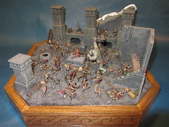 Orc-attack in Moria_04 (Mangito1) Tags: lordoftherings herrderringe mazarbul moria dwarfs gimli gandalf