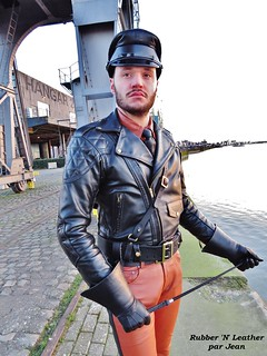 Ready for Leather Pride at Rijnkaai
