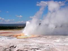 Clepsydra Geyser (libra1054) Tags: clepsydrageyser fountainpaintpotarea yellowstonenp wyoming usa geysir outdoor 7dwf landscapes vacation