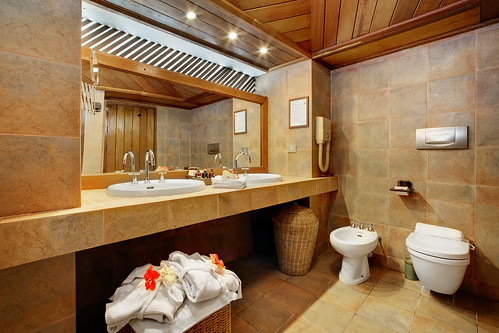 Overwater Villa Bathroom