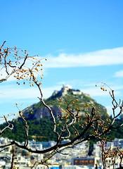 Athens...moment... (klentosharry) Tags: athens sky greece landscape lycabettus color sony blue hellas horizon moment