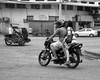 Side Saddle (Beegee49) Tags: street traffic tricycle motorbike motorcycle filipina bacolod city philippines