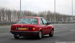 BMW E30 316 1986 (XBXG) Tags: ph77sg bmw e30 316 1986 bmwe30 bmw316 red rood rouge a2 abcoude nederland holland netherlands paysbas youngtimer old classic german car auto automobile voiture ancienne allemande deutsch vehicle outdoor