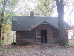 Haunted cabin (Pictures by Ann) Tags: countdowntohalloween halloween activities familytradition holiday spooky cabin house fright party