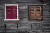 Differend Window same view (Felix Ott) Tags: window diversity fenster verschieden unterschiedlichkeit ungleichheit wood holz rahmen fensterladen shutter