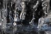 When Hell Freezes (gripspix (OFF)) Tags: 20180322 ice eis detail icicle eiszapfen einschlüsse luft air inclusions imagination vorstellungskraft texture textur