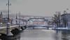 Stockholm (Senseel) Tags: stockholm bridge snow architecture building water