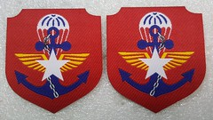 Myanmar Airborne Battalion (Sin_15) Tags: myanmar airborne battalion badge insignia patch military army armed force paratrooper special