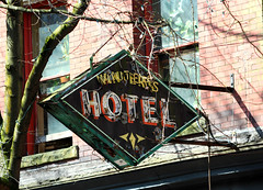 Winters Hotel (jmaxtours) Tags: hotel wintershotel gastown vancouver vancouverbc vancouverbritishcolumbia britishcolumbia bc sign williamtuffwhitewayarchitect hotelsign
