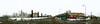 """Пожар в """"Зимней Вишне"""". Вид с территории снесённого рынка (avkbe) Tags: russia kuzbass kemerovo city panorama весна вечер город дома дым зимняявишня кемерово киоск круговая кузбасс ленина панорама пролетарская проспект разруха рынок строительство трк улица россия 360"""
