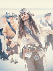 2017 Pirate Invasion of Long Beach 7.1.17 (Marcie Gonzalez) Tags: 2017 longbeach pirateinvasionoflongbeach pirateinvasion mermaids mermaid festival festivals festive event pirate pirates long beach los angeles county socal southern california ca calif usa us north america beaches sand shore shores coast coastal costume costumes captain jack sparrow morgan cannon cannons ship boat tall ocean water outfit outfits period clothing invasion