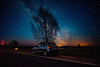 Light Years Away (free3yourmind) Tags: light years away milky way astrophotography stars starry night car tree road travel trip belarus beauty