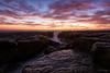 Devil's Colour I (Crouchy69) Tags: sunrise dawn landscape seascape ocean sea water coast clouds sky rocks devils cauldron whale beach sydney australia