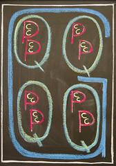3rd Grade: Weights and Measures (ArneKaiser) Tags: waldorfeducation 3rdgrade boarddrawings hws haleakalāwaldorfschool waldorf chalk chalkart chalkboard chalkdrawings