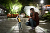 (Jane Kolyadintseva) Tags: bjd abjd doll migidoll ell rain portrait canon night yasaka shrine