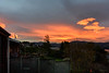 Flying High (Jocey K) Tags: newzealand nikond750 southisland akaora bankspeninsular landscape hills trees houses sunset clouds sea
