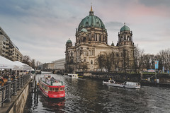 Berlin.. Berlin.. (u c c r o w) Tags: berlin cathedral berliner dom germany german deutschland red boat river riverside urban urbanlife city cityscape cityview uccrow architecture sky streetlife church water building
