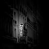 Hotel, Paris (pas le matin) Tags: building bâtiment street rue sign hotel road city ville sky window fenêtre travel world cityscape france europe europa paris canon 350d canon350d canoneos350d eos350d nb bw blakcandwhite noiretblanc monochrome