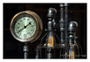 Steampunk (Rick Olsen) Tags: lighting light pipes gauge steampunk fujifilm fuji xt2
