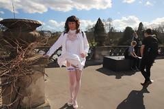IMG_2821 (Kira Dede, thank you for comment my photos.) Tags: kiradede kirad 2018 crossdresser copenhagen stockings lingerie upskirt hirschsprungssamling