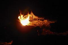 DSCN4243 (David J. Thomas) Tags: mirrorlake blanchardspringsrecreationarea fiftysix mountainview arkansas forestfire proscribedburn flames