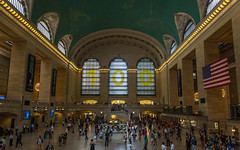 Grand Central Terminal, New York (Oleg.A) Tags: shadow usa newyork interior inside people design megalopolis architecture city town grandcentralterminal nyc america unitedstates us