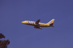 Now that's an upgrade! (crusader752) Tags: ryanair hertz rental hirecar sponsored boeing b737 eicjc departing londongatwick runway26 2005
