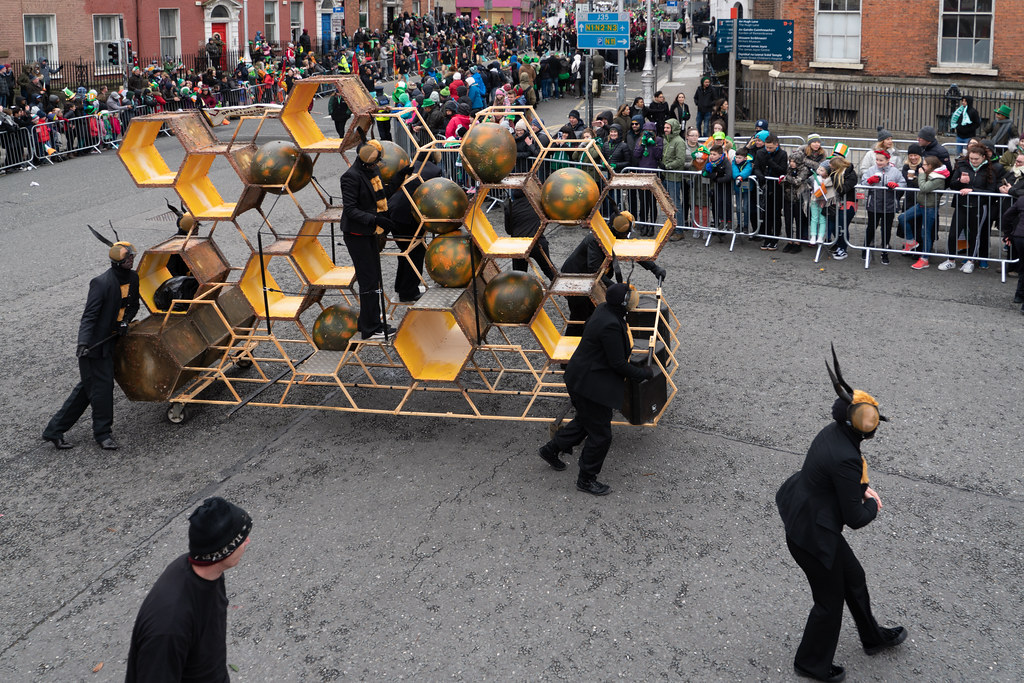 INSECTOPIA BY SPAORI [DUBLIN PARADE 17 MARCH 2018]-137727