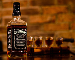 Old No. 7 (ArmyJacket) Tags: jackdaniels jack daniels whiskey liquor oldno7 bar alcohol drink shot shotglasses product beverage home