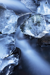 Ice Flow (Kevin.Grace) Tags: ice flow water long exposure dolomites italy winter