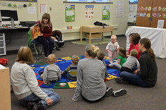 03.26.18 Out & About at Millard Early Childhood Family Center (Omaha Public Library) Tags: omahapubliclibrary millardpublicschools storytime outabout outaboutstorytime books reading dancing music songs kids fun learning education literacy earlyliteracy