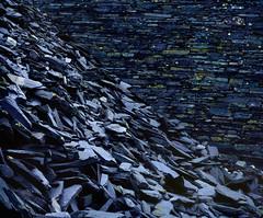 The Rough and the Smooth (Velvia 50 5x4) º (CactusD) Tags: dinorwic llanberis slate quarry detail rock texture textures landscape wales northwales north uk snowdonia unitedkingdom gb details greatbritain great britain united kingdom nikon d800e fx film 5x4 4x5 fuji fujichrome velvia velvia50 largeformat large format digitized linhof technikardan tks45 s45 nikkorm300mmf9 nikkorm 300mm f9 tilt shift tiltshift movements pce 85mmf28pce 85pce 85mm f28