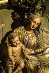 Virgen del Carmen (Fernando Two Two) Tags: betlem esglesia chiesa iglesia church bcn barcelona