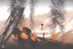 Finn at the Crash site (David Otten Fotografie) Tags: 70300 brick d610 finn jakku lego nederland netherlands nikkor nikon nikond610 nikontop tfa tie crash davidottenfotografie desert dof picoftheday sinkingsands starwars strobe