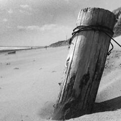 irvinebea4 (Roddy McIntosh) Tags: blackandwhite irvine ayrshire scotland transition passage deterioration shallowdepthoffield sand beach monochrome bw leica