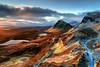 Quiraing-Sunrise (deanallan) Tags: art beauty colors landscape light mountain ngc natgeo nature outdoor photography scotland scenic sunrise travel uk view adventure sky